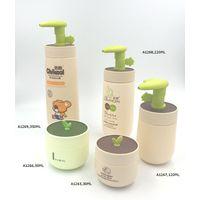 Plastic Baby Shampoo Bottle Lotion Bottle Cream Jar