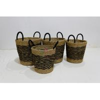 Hot item seagrass baskets- BH4344A-4MC