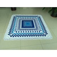 Square Beach towel with tassel