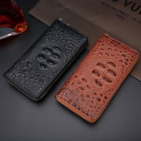 Crocodile Pattern Genuine Leather Wallet