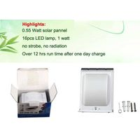 Sound activated is 55DB Solar sound sensor wall lamp thumbnail image