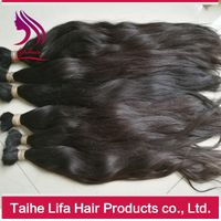 8A grade wholesaole price unprocessed virgin human hair bulk