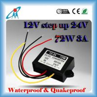 dc dc converters DC 12V to 24V 3A 72W dc-dc car power converter