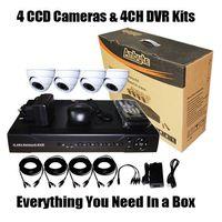 4 CCD&DVR CCTV Kit Recorder (SV60-DK04D742)