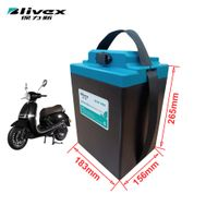 60v 24ah Lithium battery pack motorcycle replacement battery thumbnail image