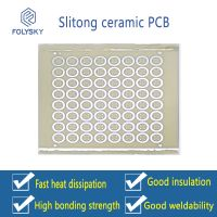 Slitong ceramic PCB/Ceramic circuit substrate suitable for LED and sensor