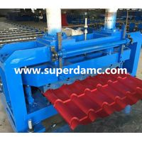 Glazed step tile roofing panel roll forming machine bamboo style thumbnail image