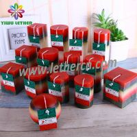 Classic Scented Pillar Candles Square Candles Ball Candles for Christmas Festival
