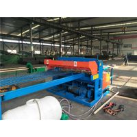 Manual wire threading machine in coal mine