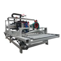 High speed surface smoothing stone cleaning and brush grinding machine