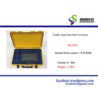 HS-3163P Portable single-phase energy meter on-site calibrator,0.05% Class