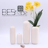 For Home Decor Matt ceramic art vase
