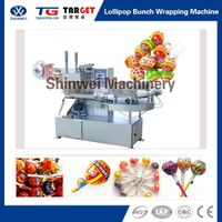 Lollipop Candy Bunch Wrapping Packing Machine