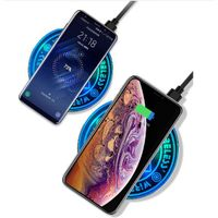 10W Wireless Charger Compatible with iPhone Samsung Mobile Phone