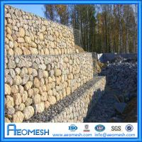 Superior quality decorative galvanized welded Gabion basket