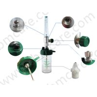 Wall-type Galvanized Aluminum O2 Flowmeter With High-quality Humidifiers for Medical Bead Head Units thumbnail image