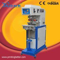 2 color Maquinaria de tampografia tampo printing machine with shuttle HL-200D-2