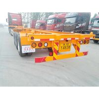 3 axle skeleton/ flat bed container semi trailer thumbnail image