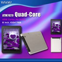 8 inch ATM7029 Quad-Core ARM Cortex A9 tablet Android 4.1.1