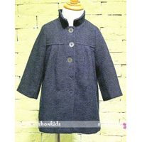 Simple style girls overcoat
