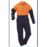 100% Cotton and Polyester/Cotton Men's Workwear Overalls