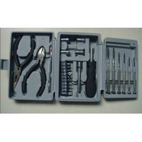 25 Piece Tri-Fold Box Package Tools Multifunction Hand Tool Set Mechanical Tool Kit