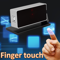 multi writing finger and pen touch smart board portable interactive whiteboard for education thumbnail image