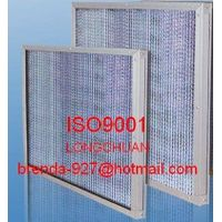High Tempurature Resistance Roughing Efficiency Air Filter