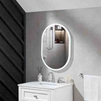 2020 high quality Illuminated Bathroom Wall Mounted Backlit Mirror