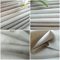 Natural Color Linen Cotton for Garment, Home Textile, Bags, Arts Cloth