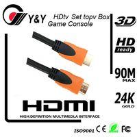 2013 Newest 19pin 1080P 3D Full HD 1.4 V HDMI Cable thumbnail image