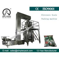 High Speed Gusset Bag Snacks Packaging Machine with 10 Electric Scales thumbnail image
