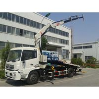 Flatbed Wrecker with Crane thumbnail image