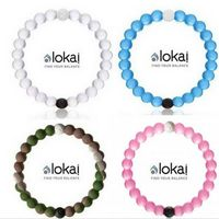 Silicone Bracelet Lokai From Dead Water&Sea Hologram Bracelet For Women Men Anion Bracelet
