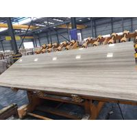 China White Wooden Marble Slabs & Tiles
