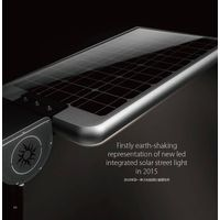Motion Sensor Integrated All In One Solar Energy Powered Street Light