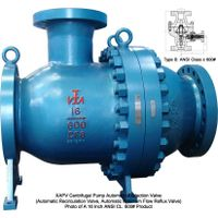 pump protection valve, recirculating valve, recirculation valve, reflux valve, automatic recirculati thumbnail image