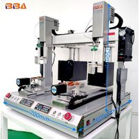 High speed automatic glue dispenser for epoxy ab glue glue spreader machine