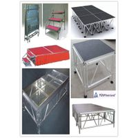 aluminum assemble portable stage/mobile stage/adjustable stage
