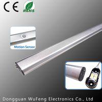 Split Motion Sensor Led Wardrobe Light, LED Closet Rod