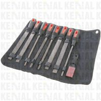 (KN1112)8 inch File and Rasp Set - 9 Piece