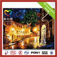 diy oil painting by number kits 100% handmade thumbnail image