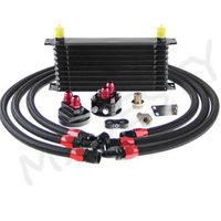 10 Row AN-10 Engine Transmission Oil Cooler and Kits For Automotive