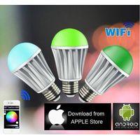WiFi RGB LED Bulb Color Changing LED Lights home automation thumbnail image