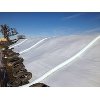 white/black silo cover,silage sheeting for bunker corn, grains thumbnail image