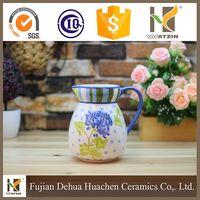 painting ceramic creamer pots