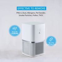 Desktop Small Air Purifier, portable air cleaner KJ45F-D01