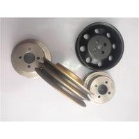 6D114E engine parts 6743-61-3310 fan belt pulley for Komatsu PC360-7 thumbnail image