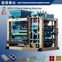 Semi-automatic Hydraulic Cement Brick Making Machine