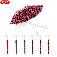RST alibaba innovative products aluminum alloy straight umbrella woman hand umbrella